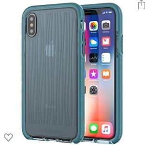 Teal Wave iPhone X/XS Case